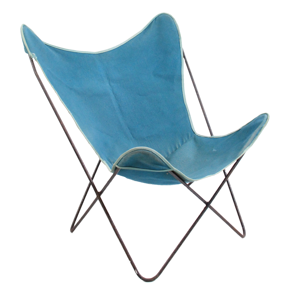 Vintage Knoll Hardoy Butterfly Chair