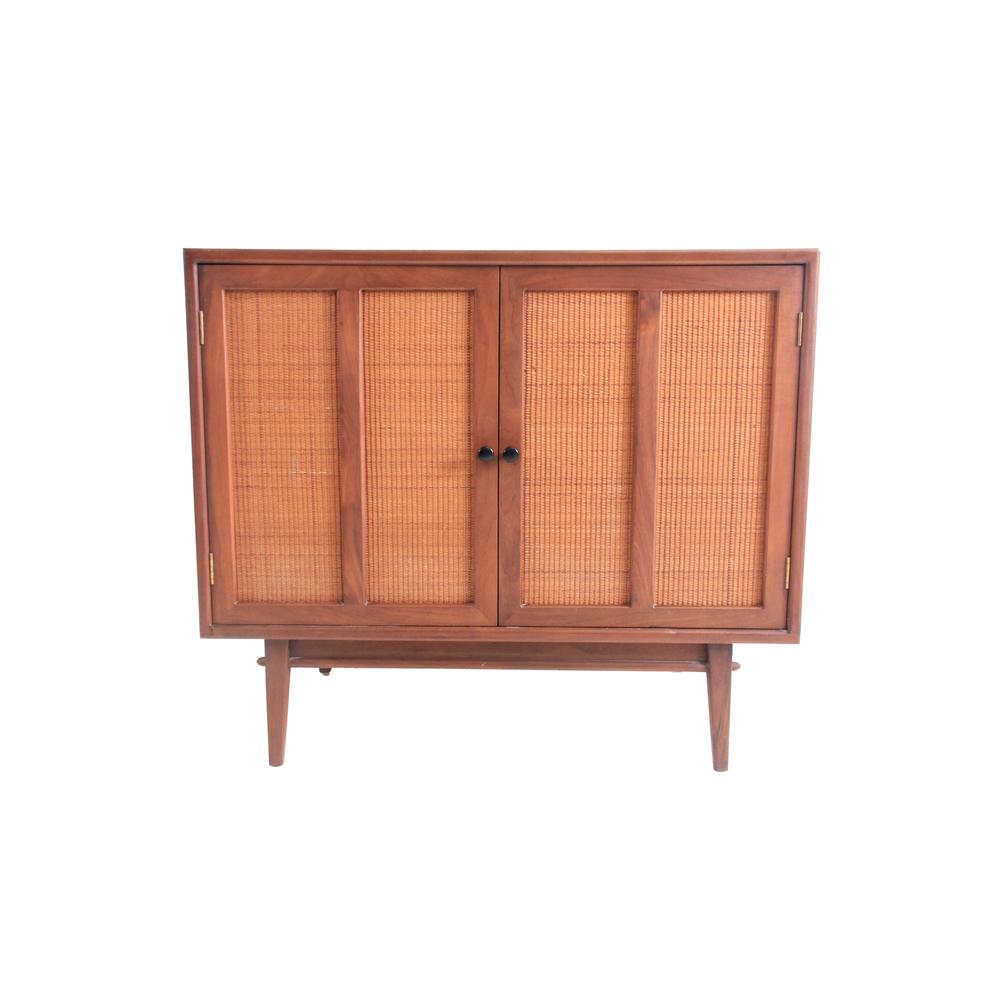 Vintage Mid Century Modern Side Bar Cabinet