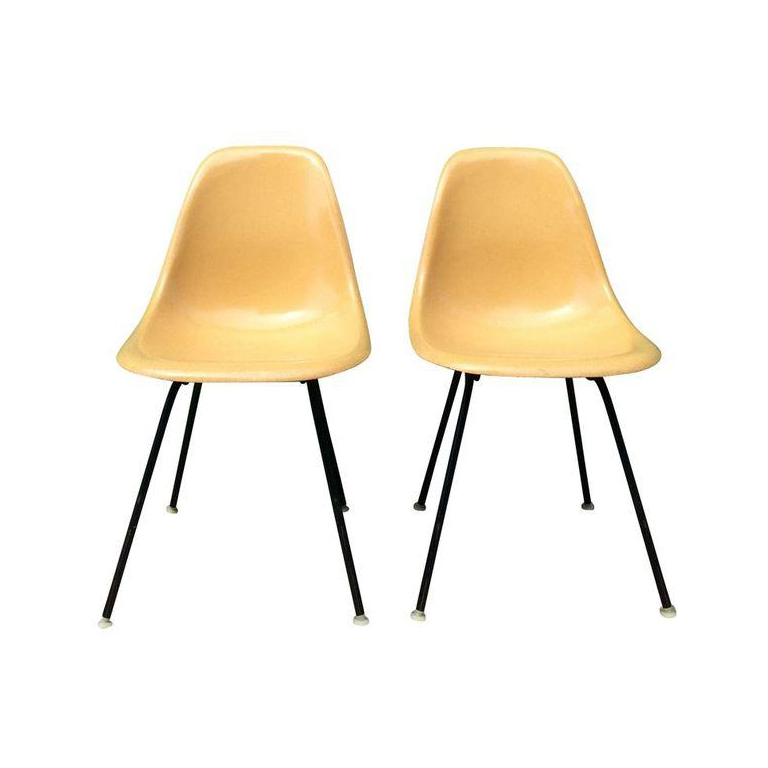 Vintage Mid Century Modern Herman Miller Shell Chairs