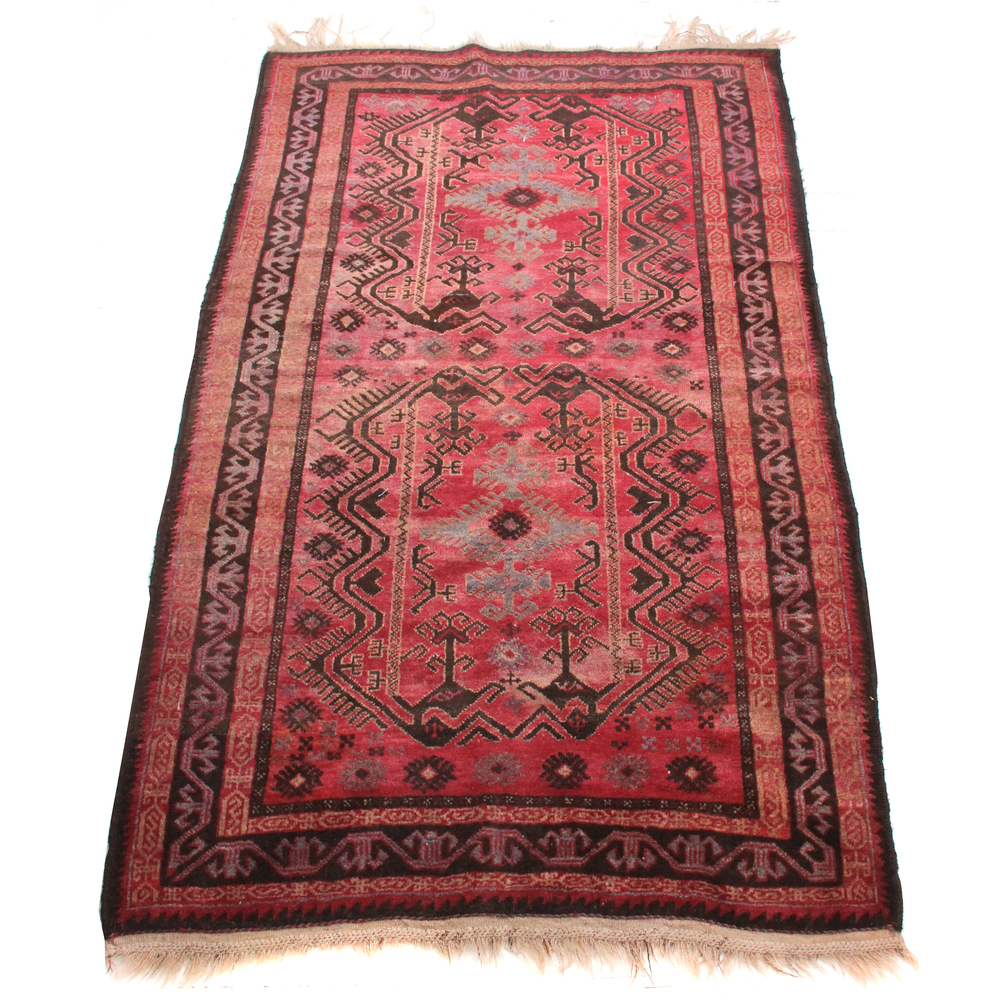 Antique Distressed Rug