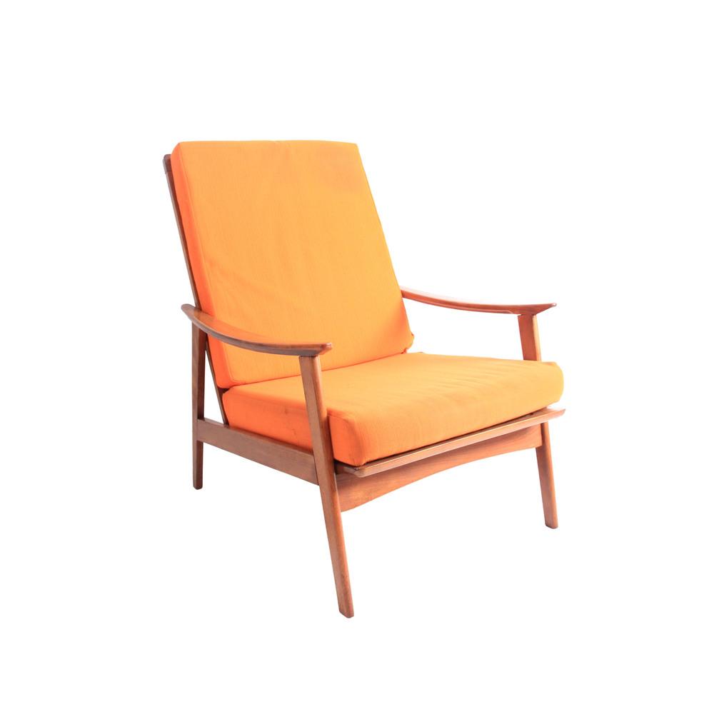Vintage Mid Century Modern Lounge Chair II