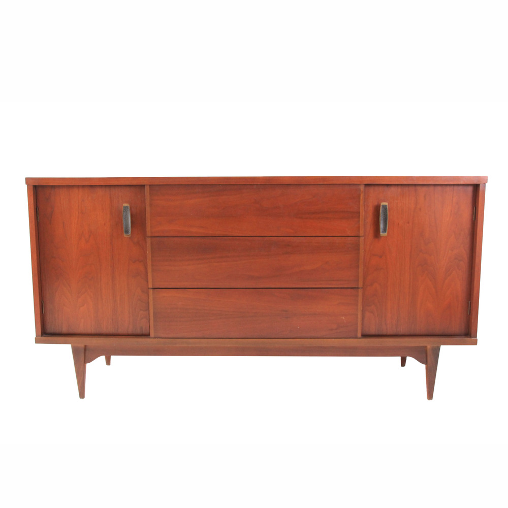 Vintage Mid Century Modern Credenza and Buffet