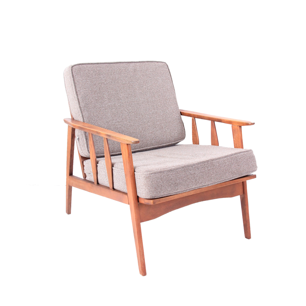 Vintage Mid Century Modern Lounge Chair