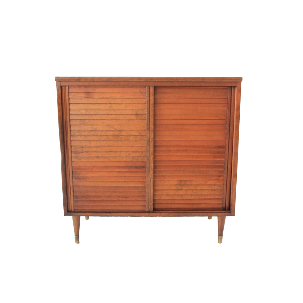 Vintage Mid Century Modern Cabinet