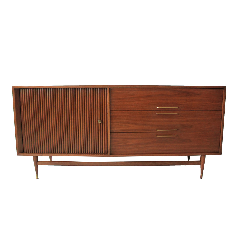 Vintage Mid Century Modern Credenza