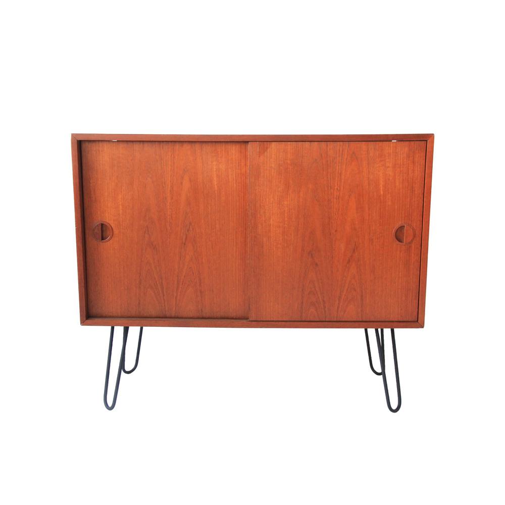 Vintage Mid Century Modern Teak Cabinet