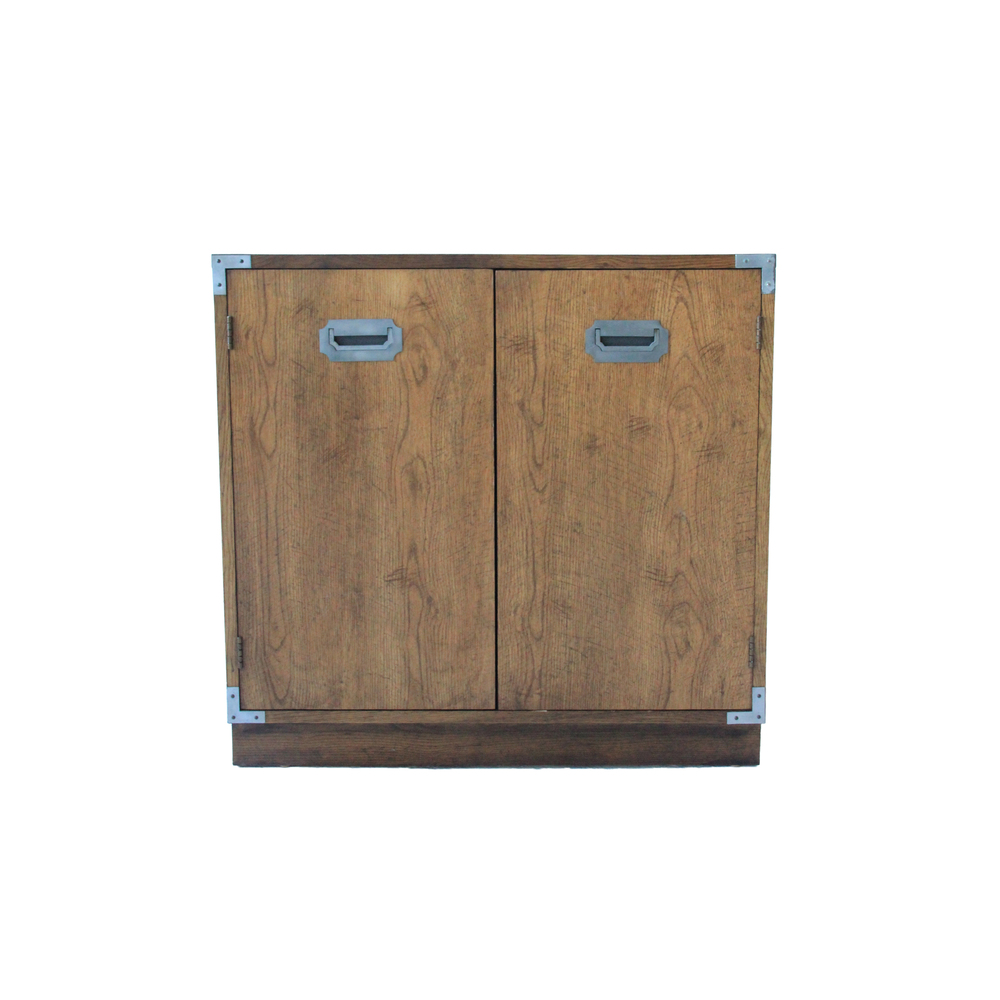 Vintage Campaign Cabinet
