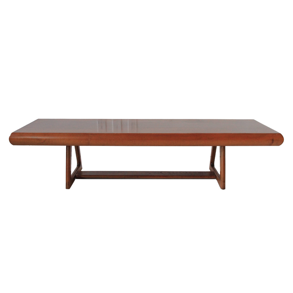 Vintage Mid Century Modern Long Bench
