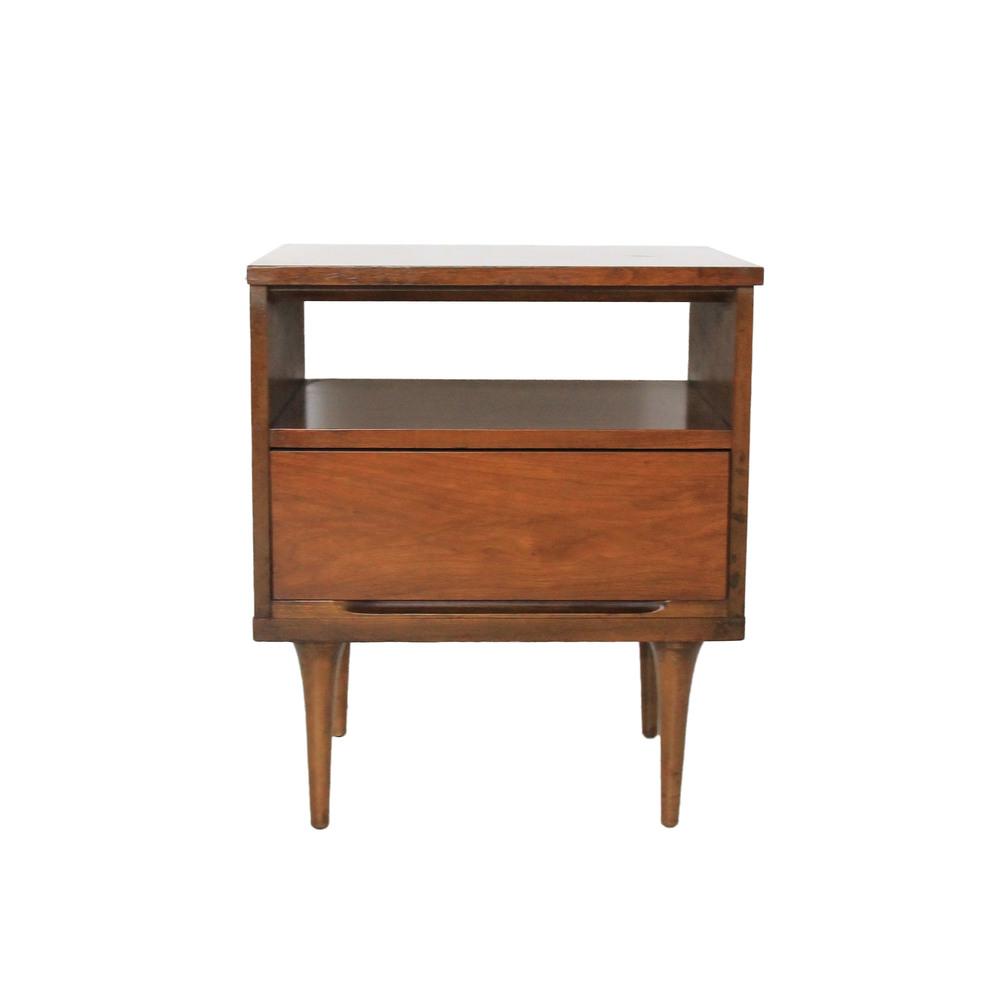Vintage Mid Century Modern Nightstand