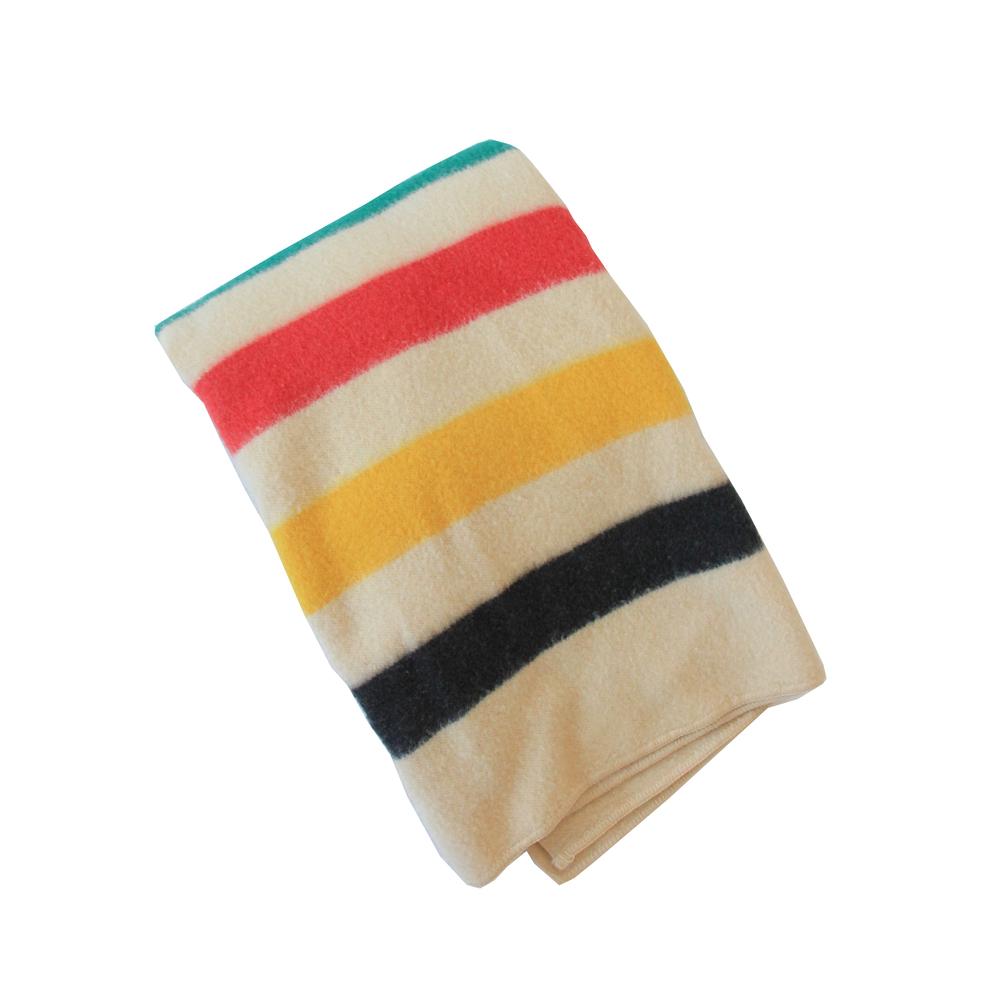 Vintage Mid Century Modern Hudson Bay Blanket