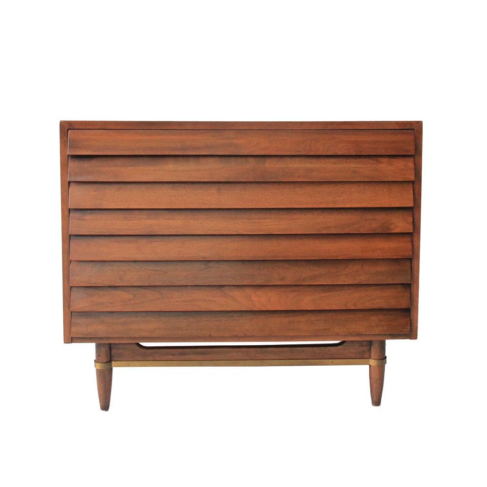 Vintage Mid Century Modern 3 Drawer Dresser