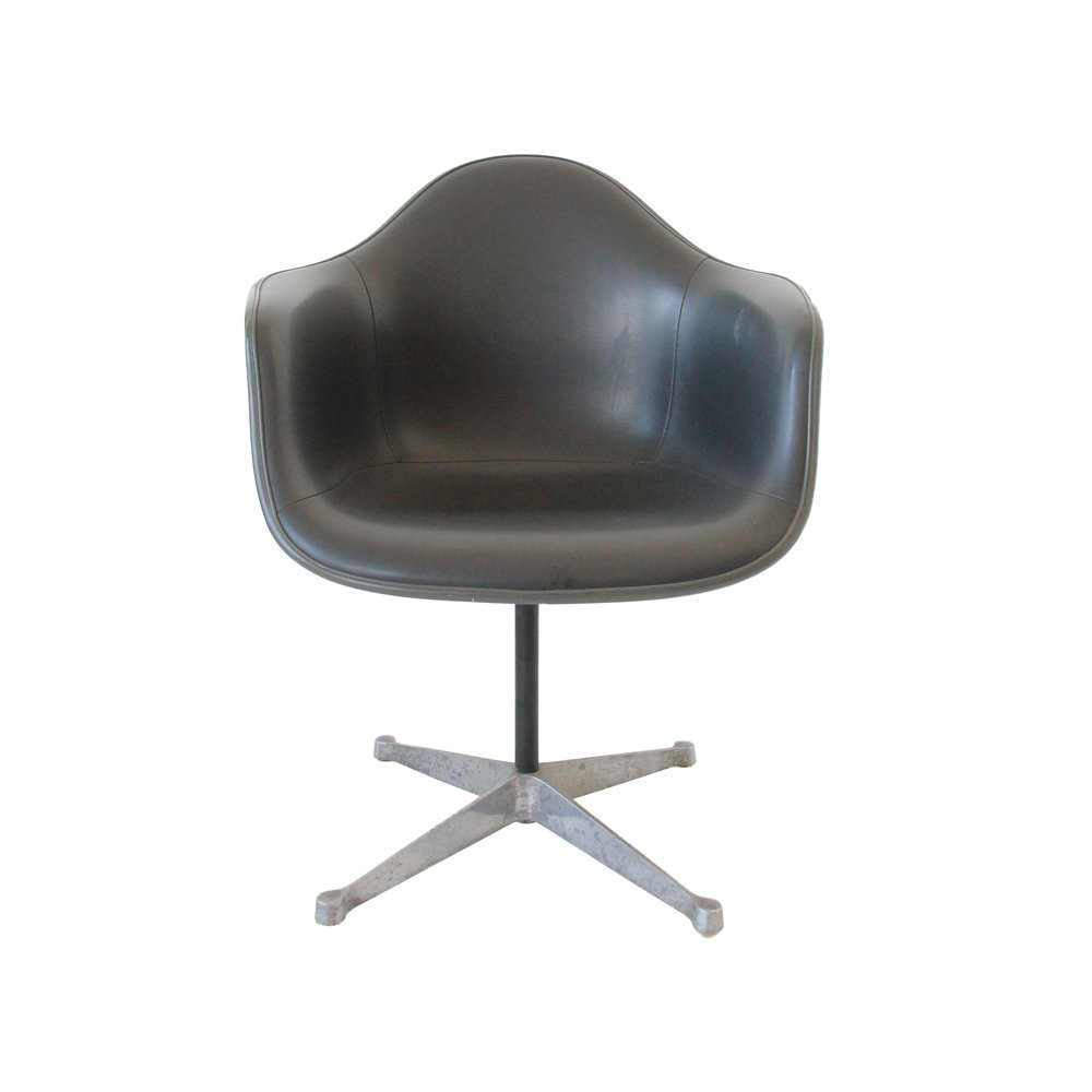 Vintage Mid Century Modern Herman Miller Swivel Chair