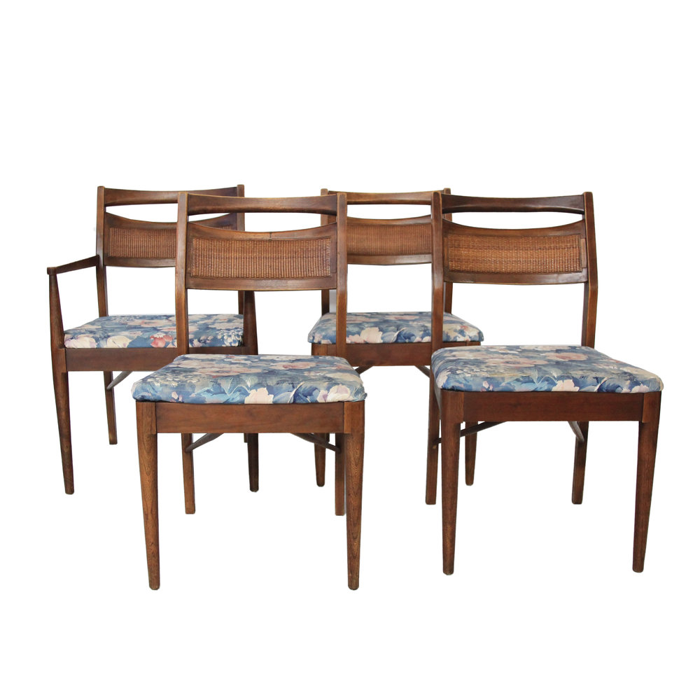 Vintage Mid Century Modern Dining Chairs