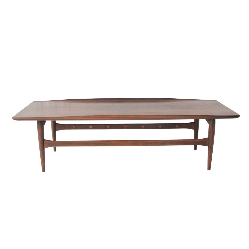 Vintage Mid Century Modern Lane Coffee Table