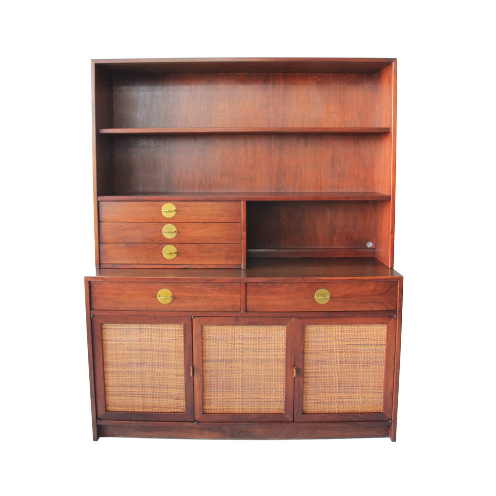 Vintage Mid Century Modern Founders Hutch