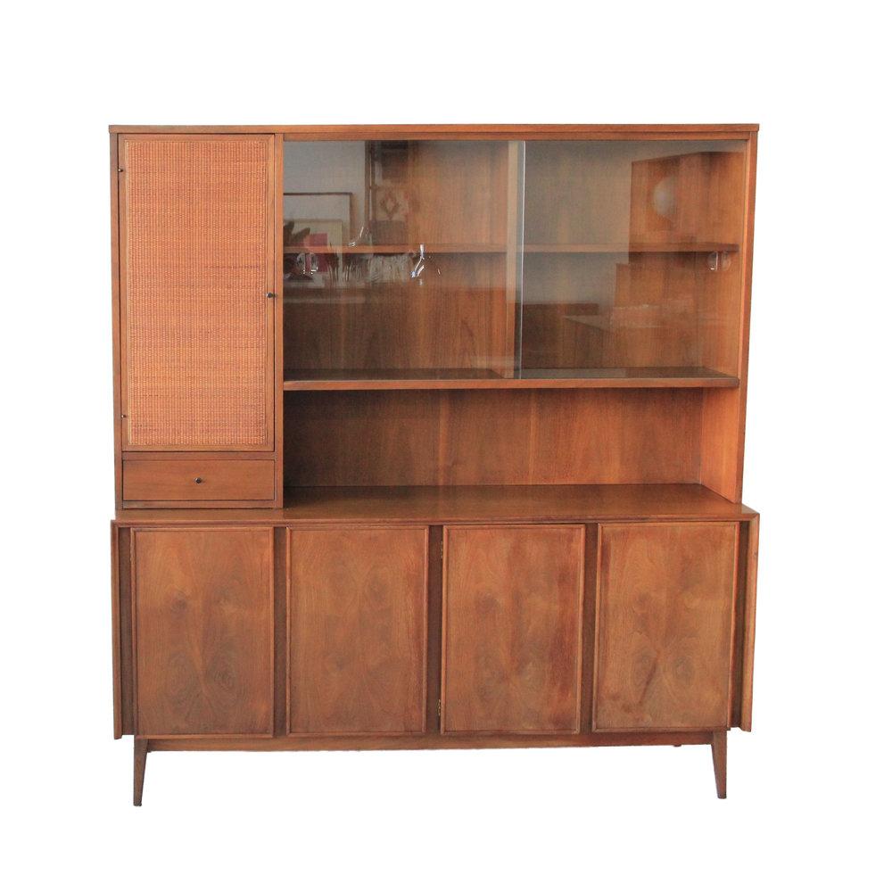 Vintage Mid Century Modern Hutch