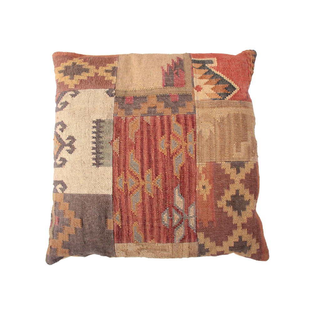 Vintage Kilim Floor Pillow