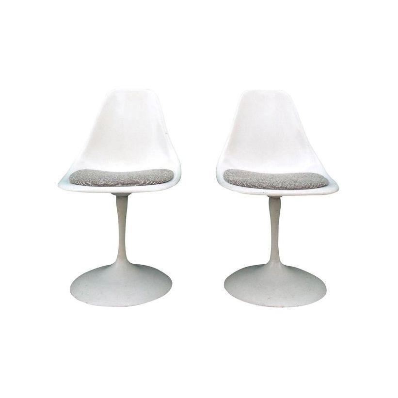 Vintage Mid Century Modern Tulip Chairs