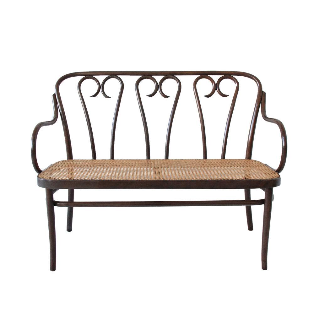 Vintage Bentwood Bench