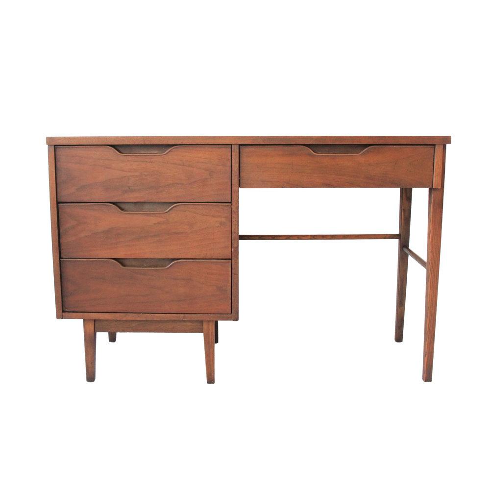 Vintage Mid Century Modern Desk by Stanley