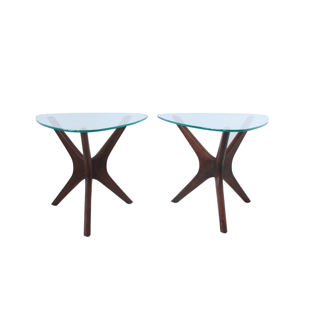 Vintage Mid Century Modern Jack's Side Tables