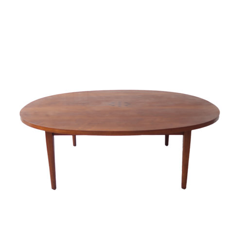 at 1st sight - products - vintage mid century modern walnut coffee