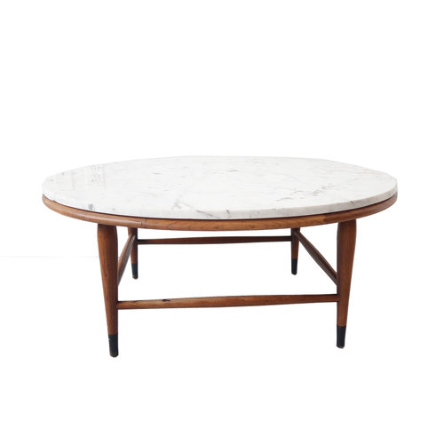 at 1st sight - products - vintage mid century modern round coffee