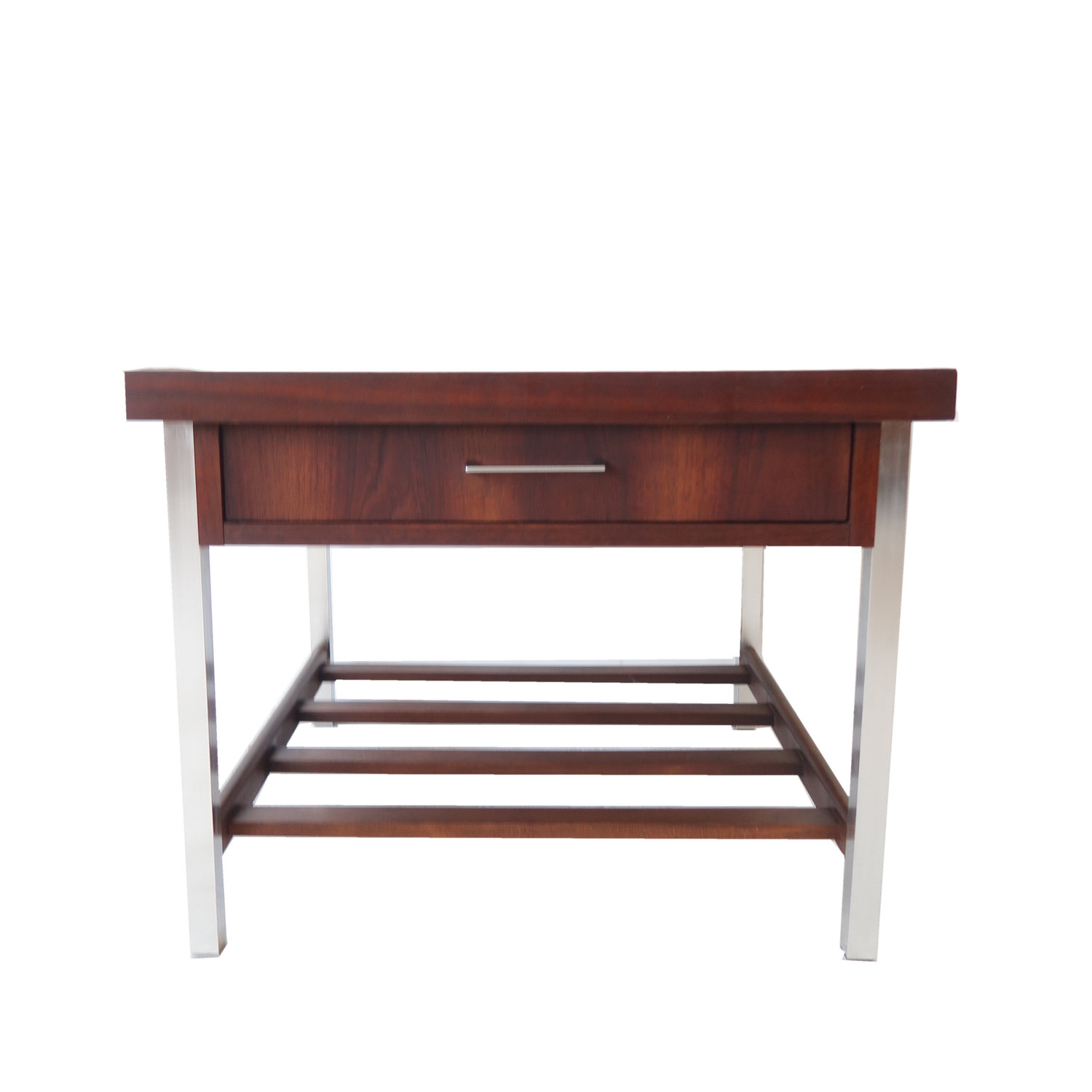 At 1st Sight Products Vintage Mid Century Modern End Table With