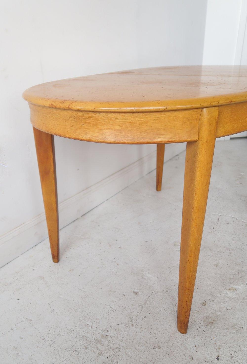 Heywood Wakefield Dining Table. IMG_2490. IMG_2492