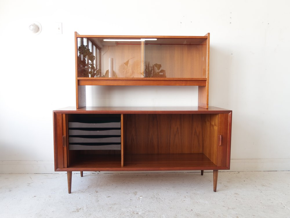 Mid Century Modern Danish Credenza : At st sight new products vintage mid century modern danish