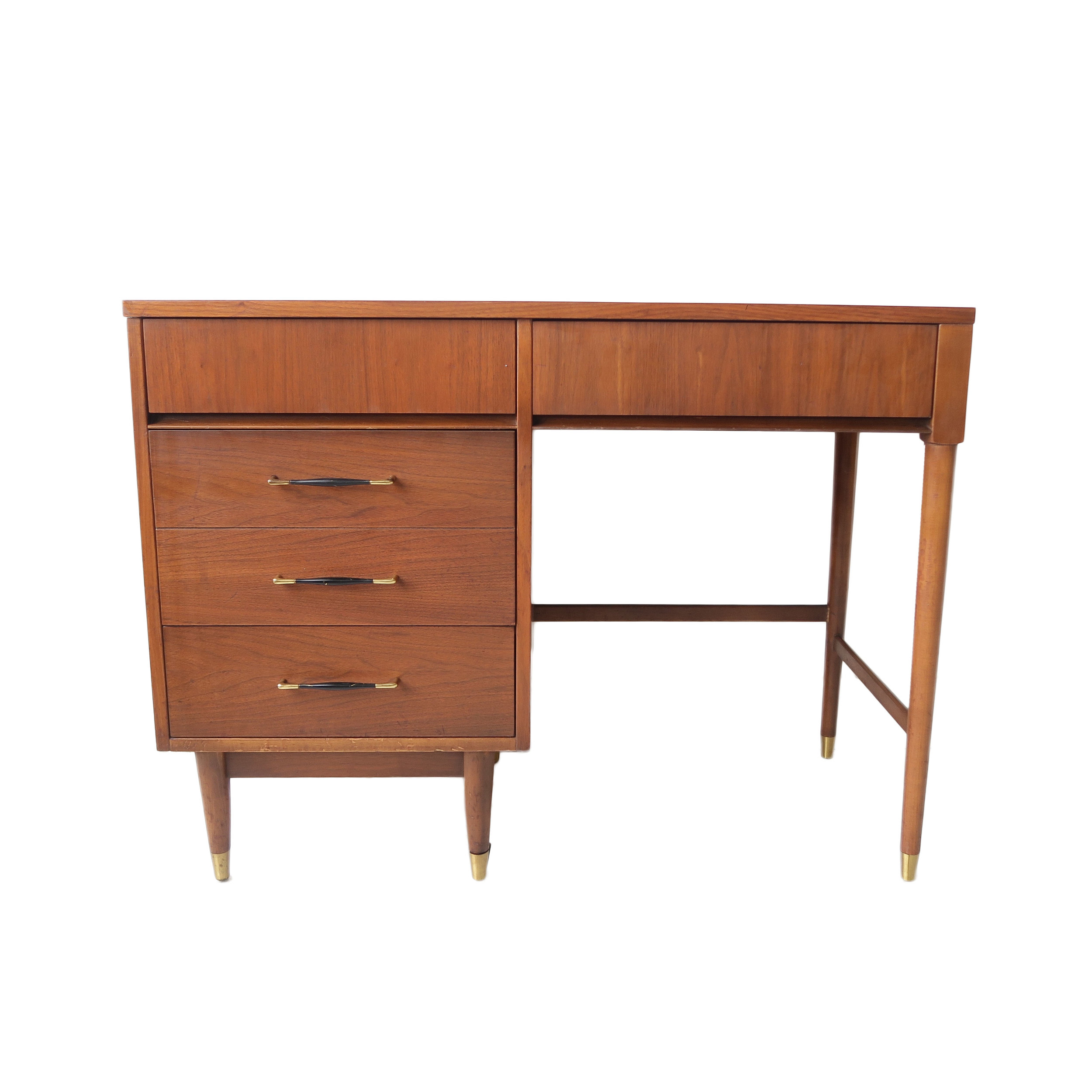 Image of: At 1st Sight New Products Vintage Mid Century Modern Floating Desk