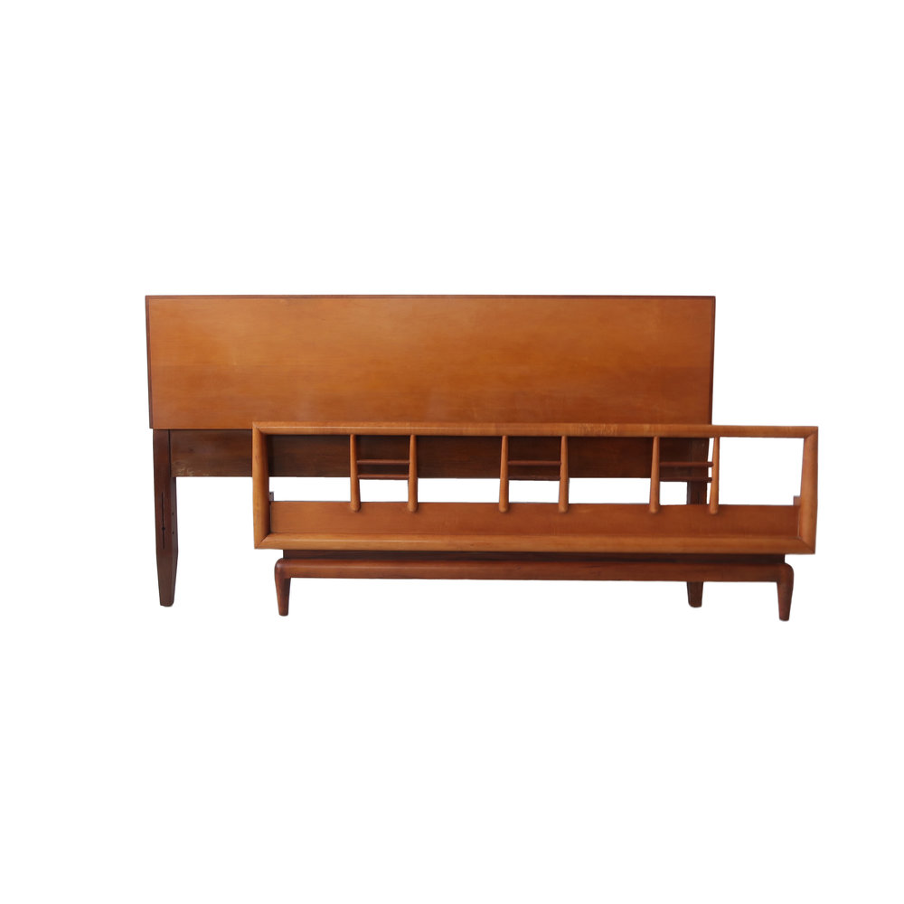 mid century modern headboard and footboard.jpg