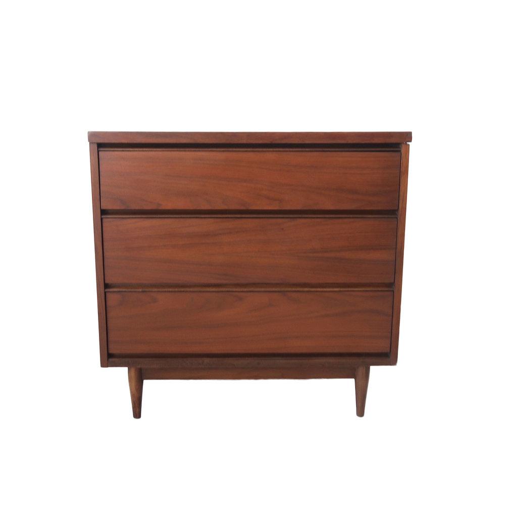 vintage mid century modern 3 drawer dresser.jpg