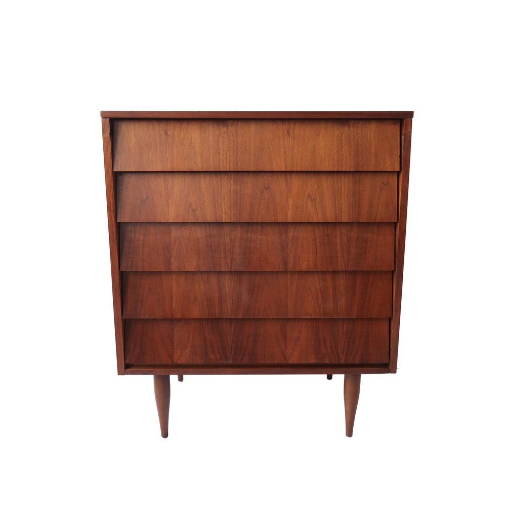Vintage mid century modern 5 drawer highboy dresserhi.jpg