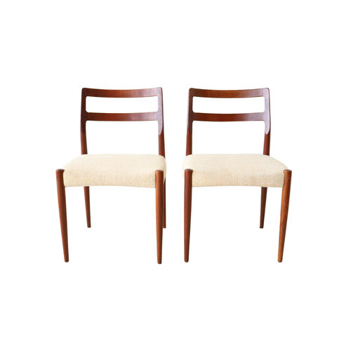 At 1st Sight Products Pair Of Vintage Mid Century Modern Danish