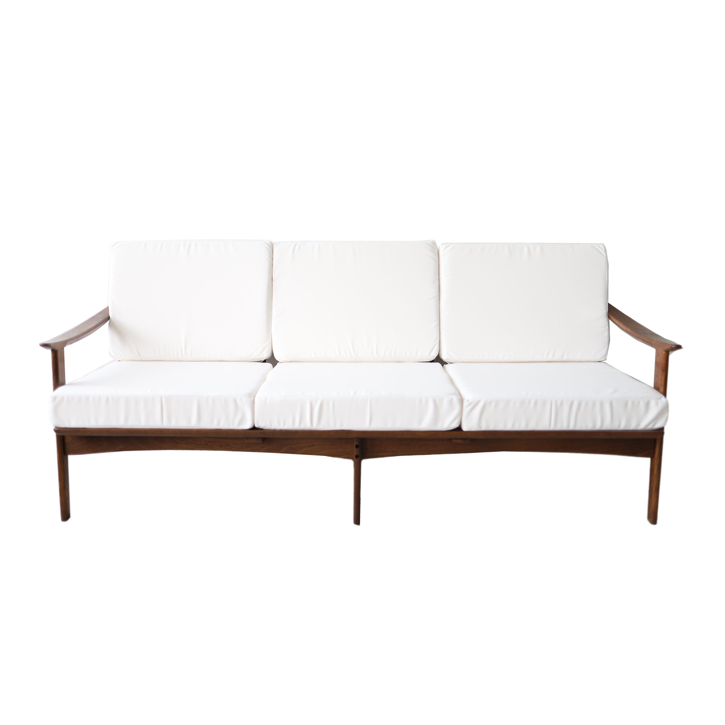 At 1st Sight - New Products - Vintage Mid Century Modern White Daybed Sofa