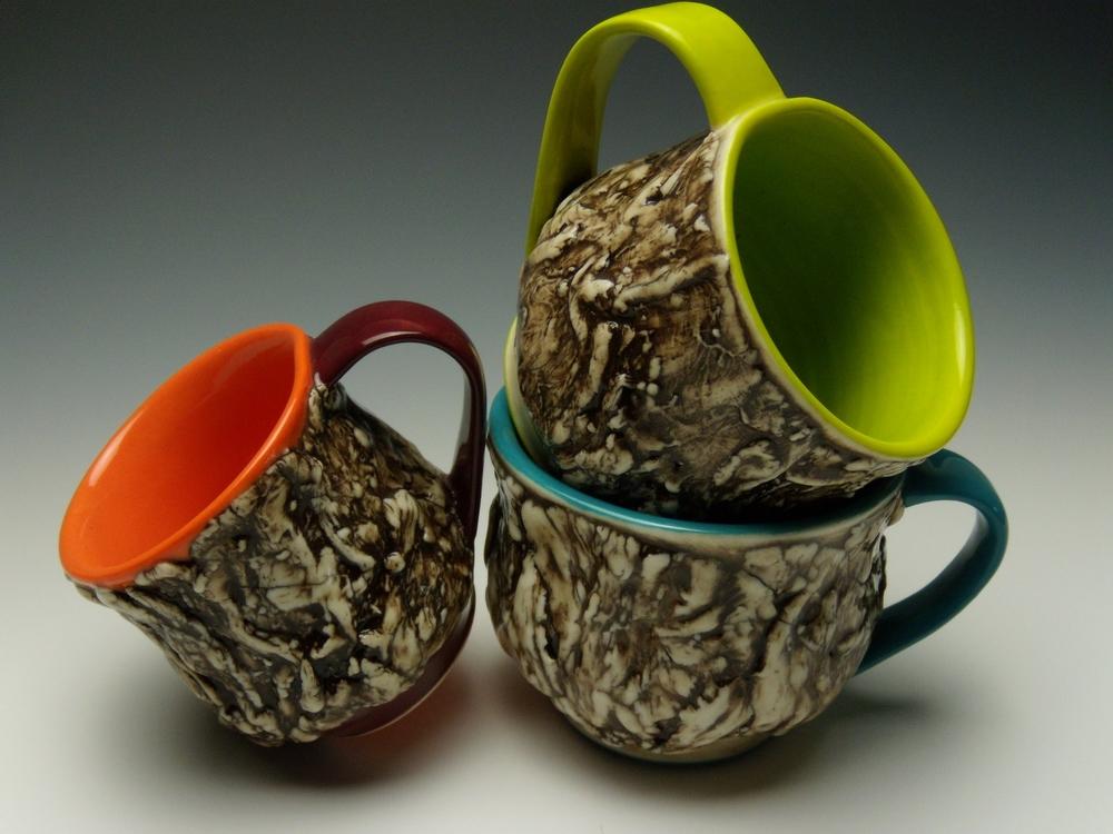 Assorted Bark Mugs