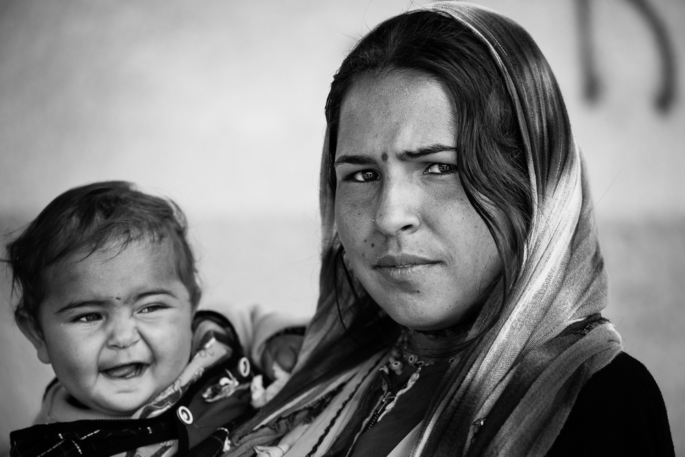 Kilis refugees camp. A mother