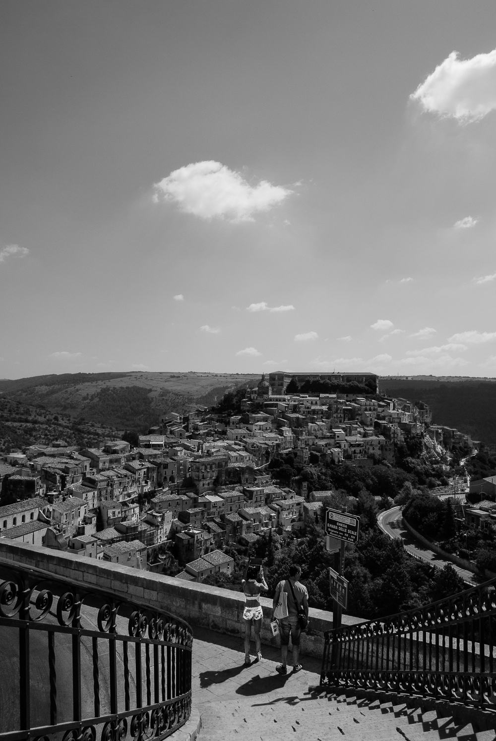 Ragusa Ibla viewed from Ragusa