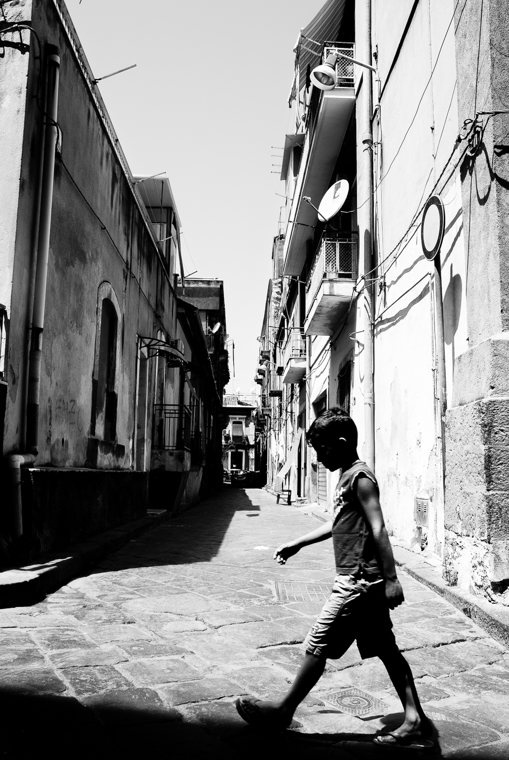 Catania's streets