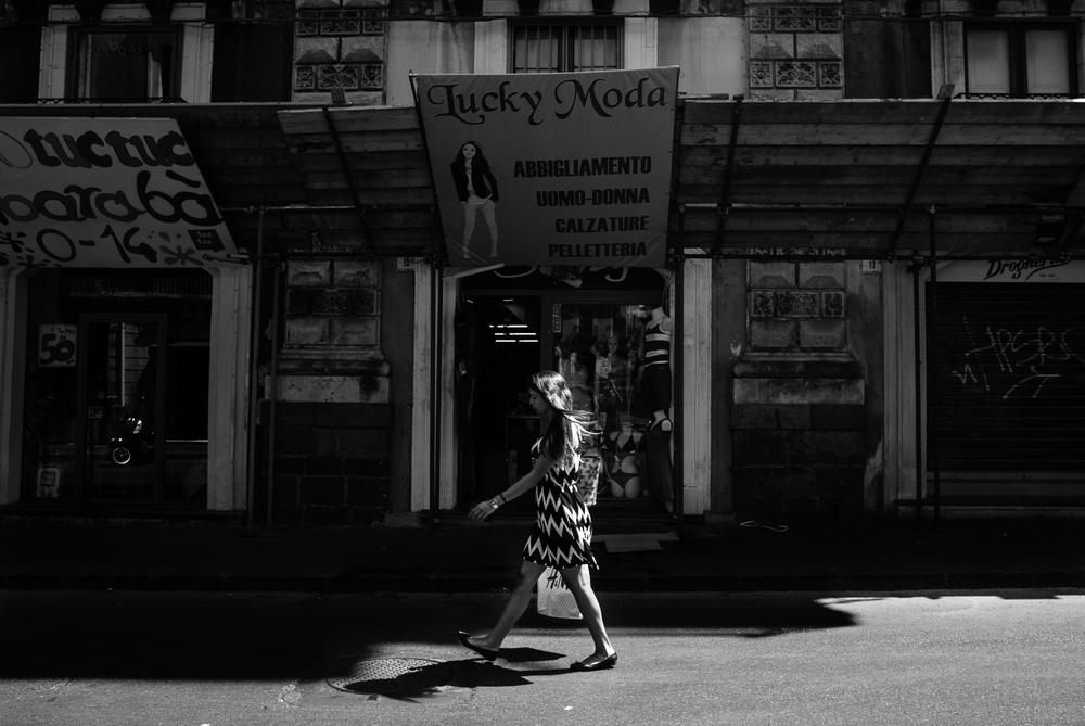 Catania's street