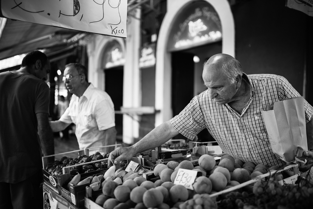 Catania local market