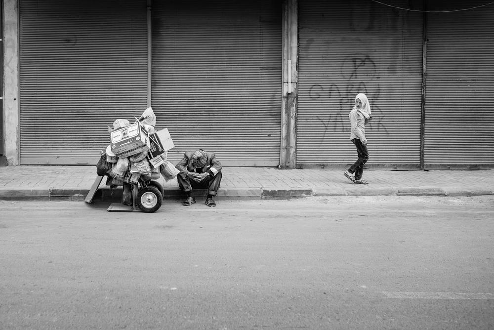 Kilis. Street scene
