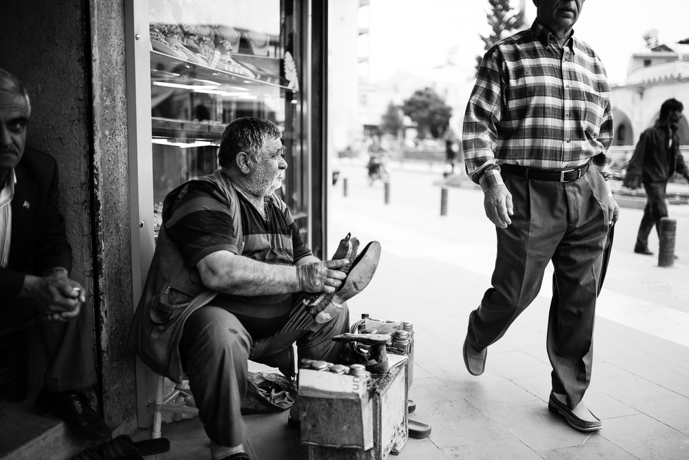 The shoeshine, Kilis