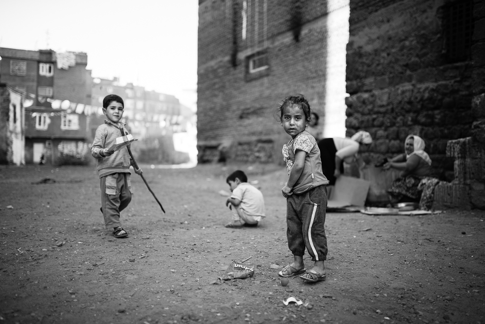 Children in Diyarbakir (Turkey)