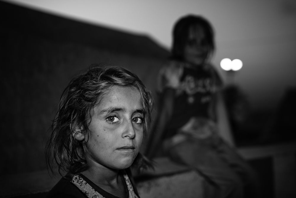 Girls in Zakho's camp