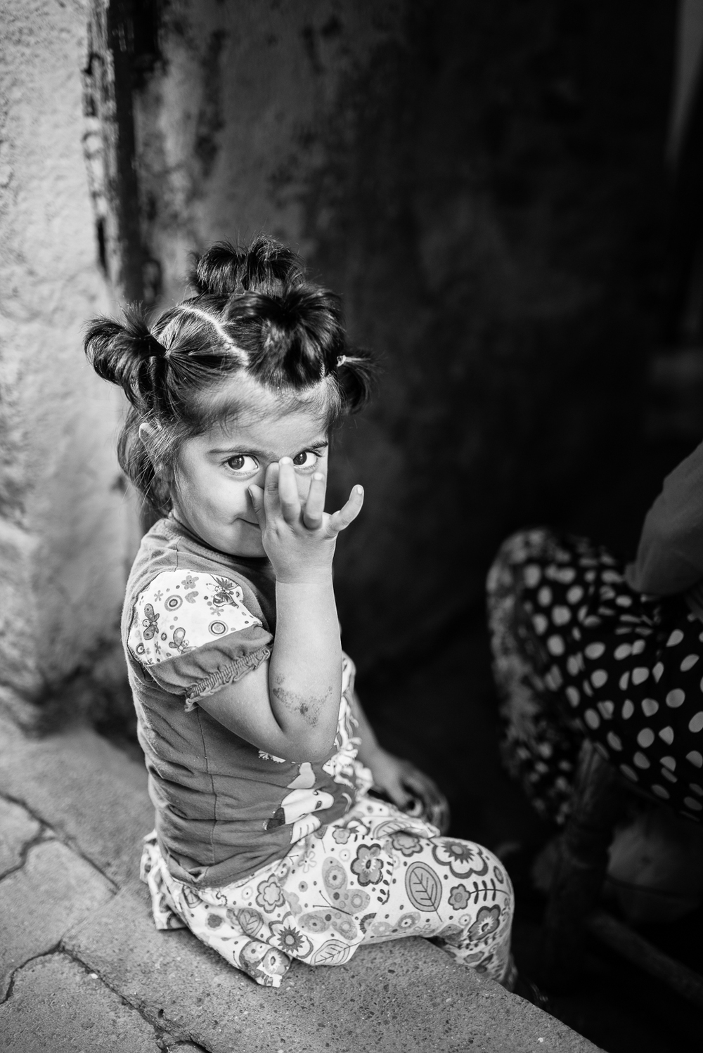 Little girl in Diyaebakir (Turkey)