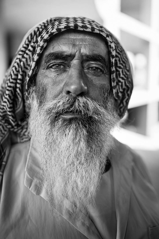 Yazidi man in Zakho