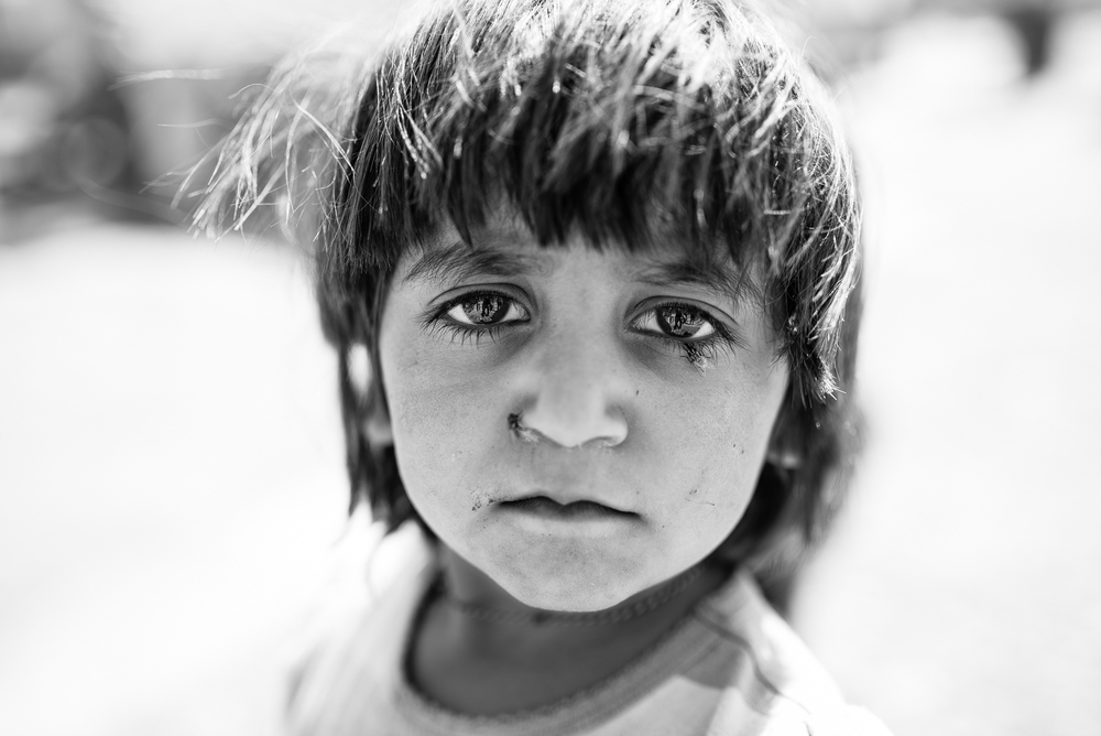 Desperation of a Yazidi refugee in Erbil's small camp