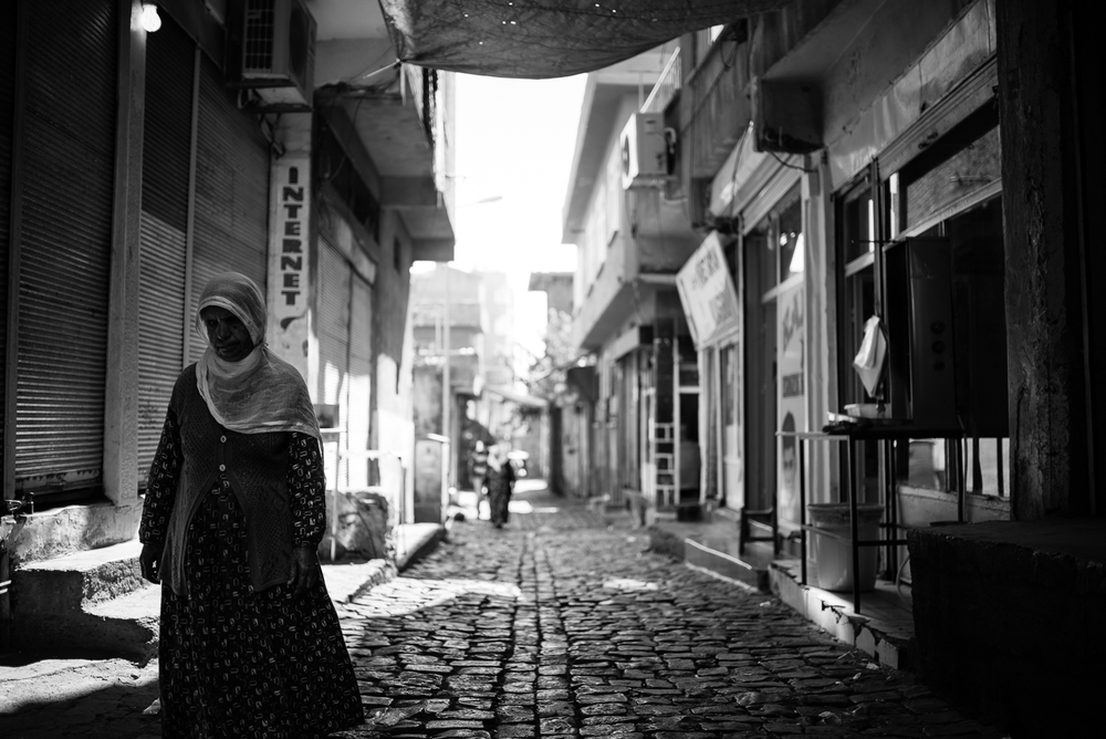 Street scene from Diyarbakir (Turkey)